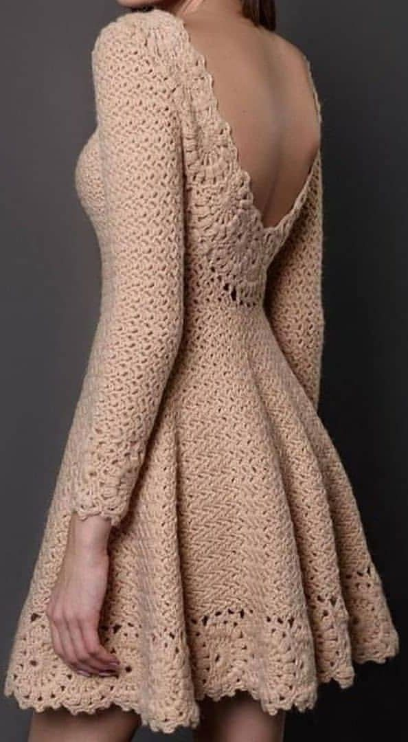 54+ Summer Style Crochet Dresses Patterns and Design Ideas – Page 47 of 53