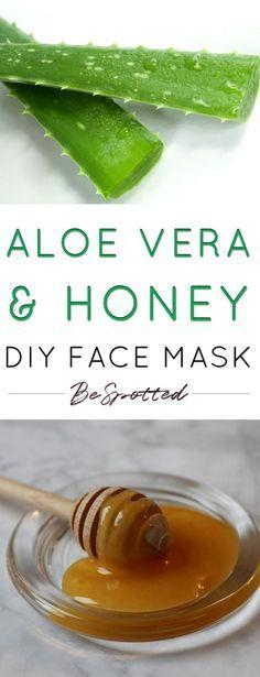 Photo of Aloe Vera and Honey Mask – A Super Hydrating DIY Face Mask