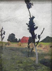 Paula Modershon-Becker se surmergió en el mundo de la pintura durante poco más de diez años. Muy poco tiempo pero muy bien aprovechado. L...