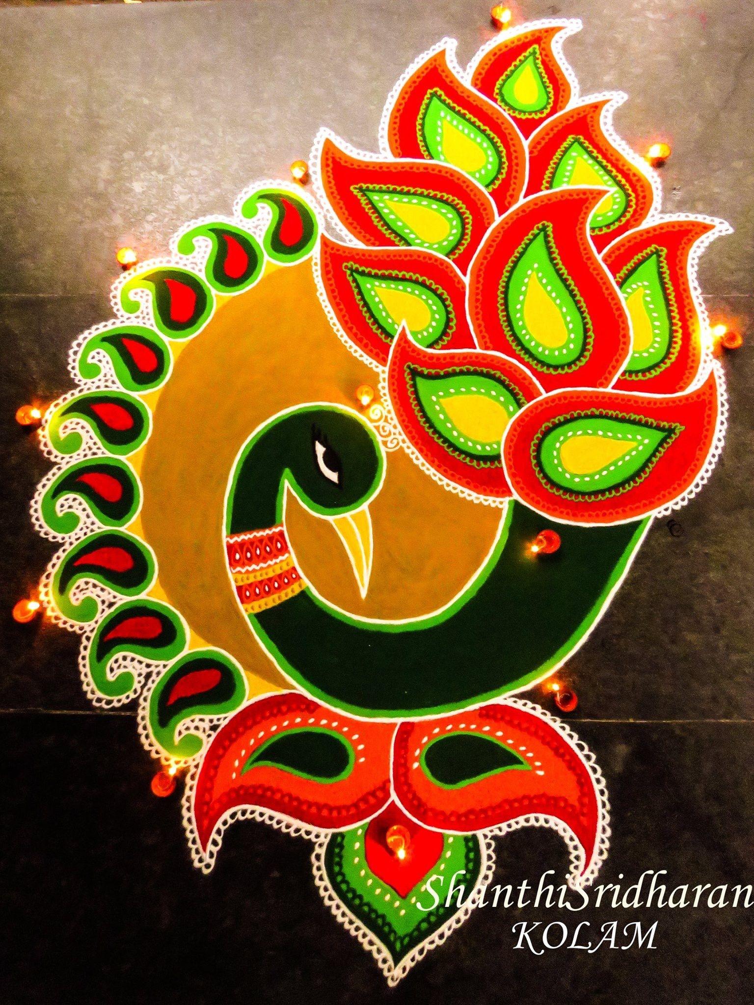 Rangoli Rangoli designs, Colorful rangoli designs