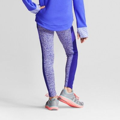 Girls' Cozy Leggings - C9 Champion Ultramarine M