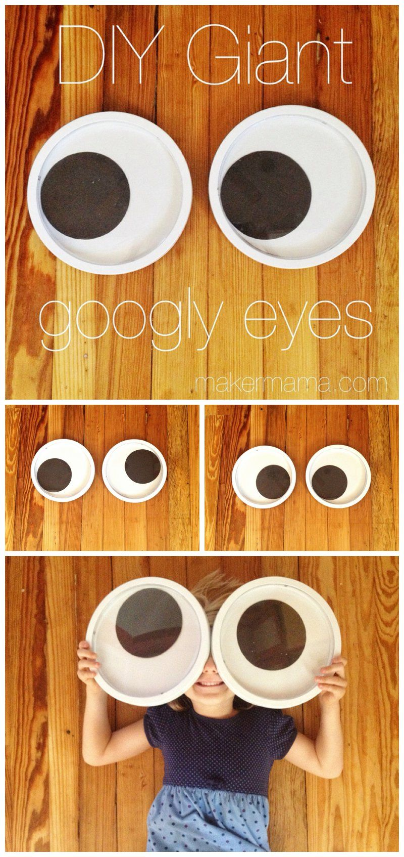 Easy Diy Giant Googly Eyes Perfect For Halloween Decorations