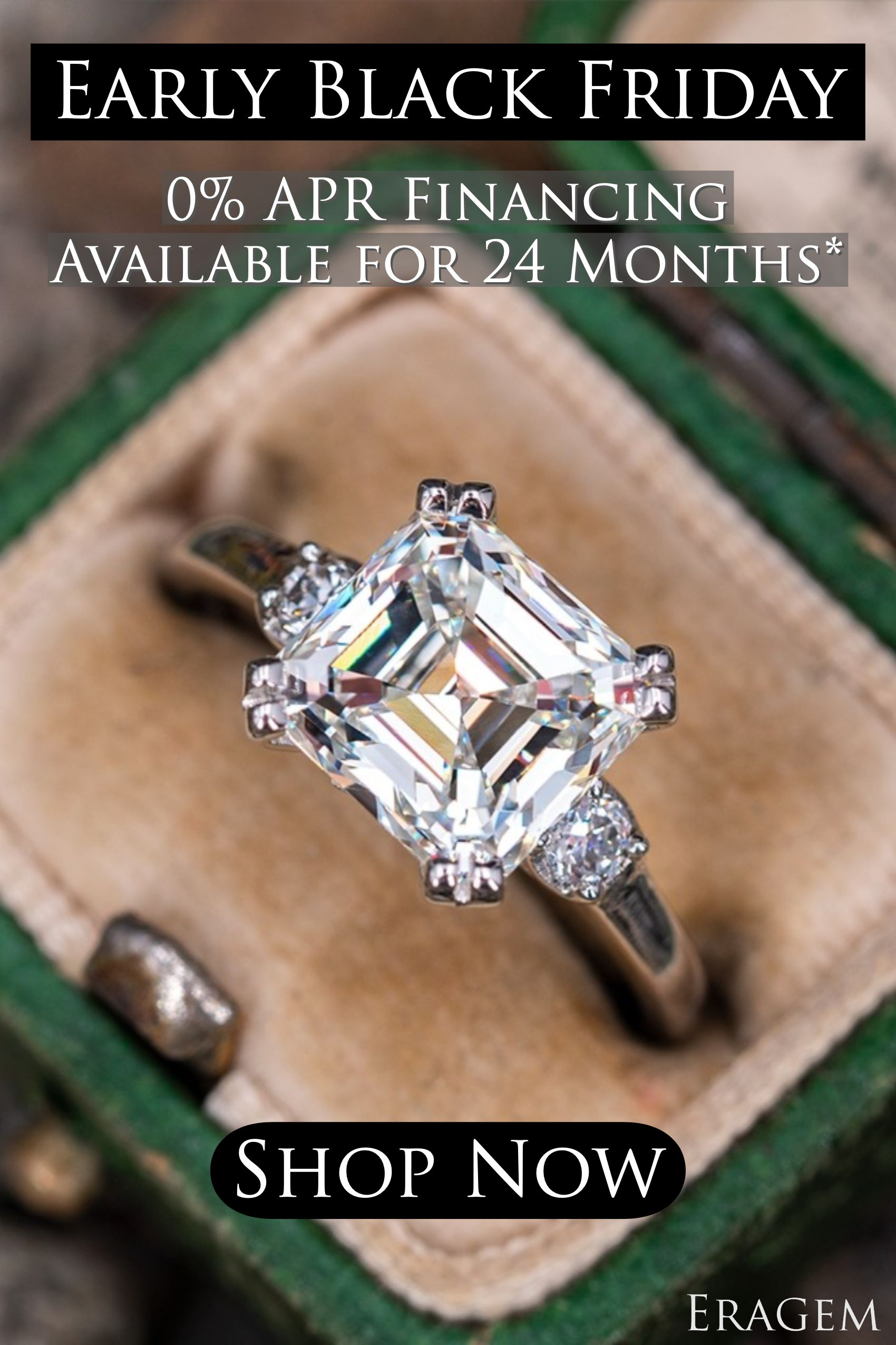 0 Apr Financing Available For 24 Months Engagement Rings Vintage Halo Vintage Engagement Rings Blue Green Sapphire Engagement Ring