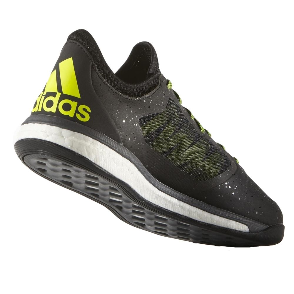 6c436b5e0 Adidas X 15.1 VS Boost Indoor Soccer Shoes (Black Solar Yellow Night  Metallic)