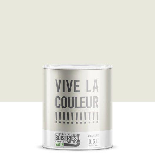 Peinture gris clair VIVE LA COULEUR! 0.5 l