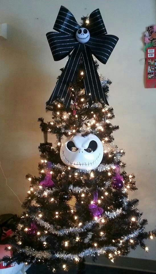 jack skellington christmas tree christmas decorating ideas ideas for christmas christmas tree - Jack Skellington Christmas Decorations