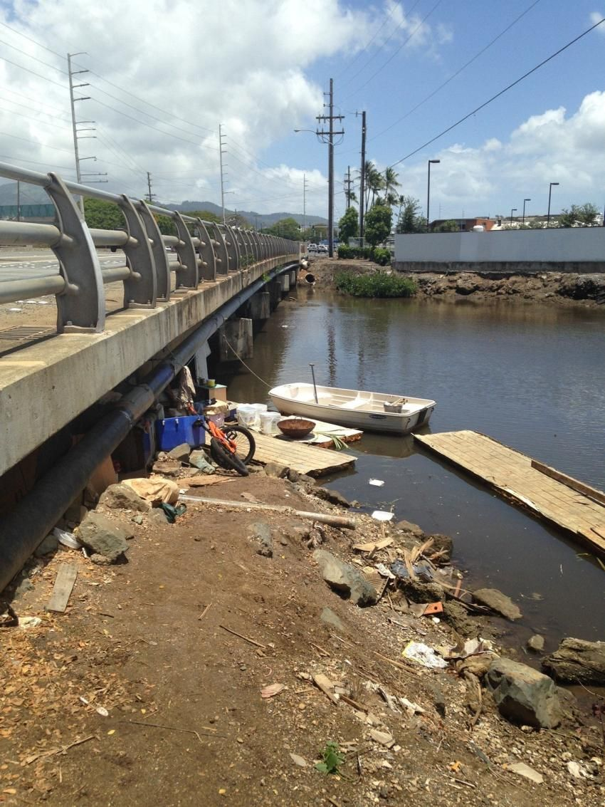 Businesses Near Airport Viaduct Homeless Camp Wonder Why It S Allowed To Exist Camping In Ohio Hawaii News Now Molokai
