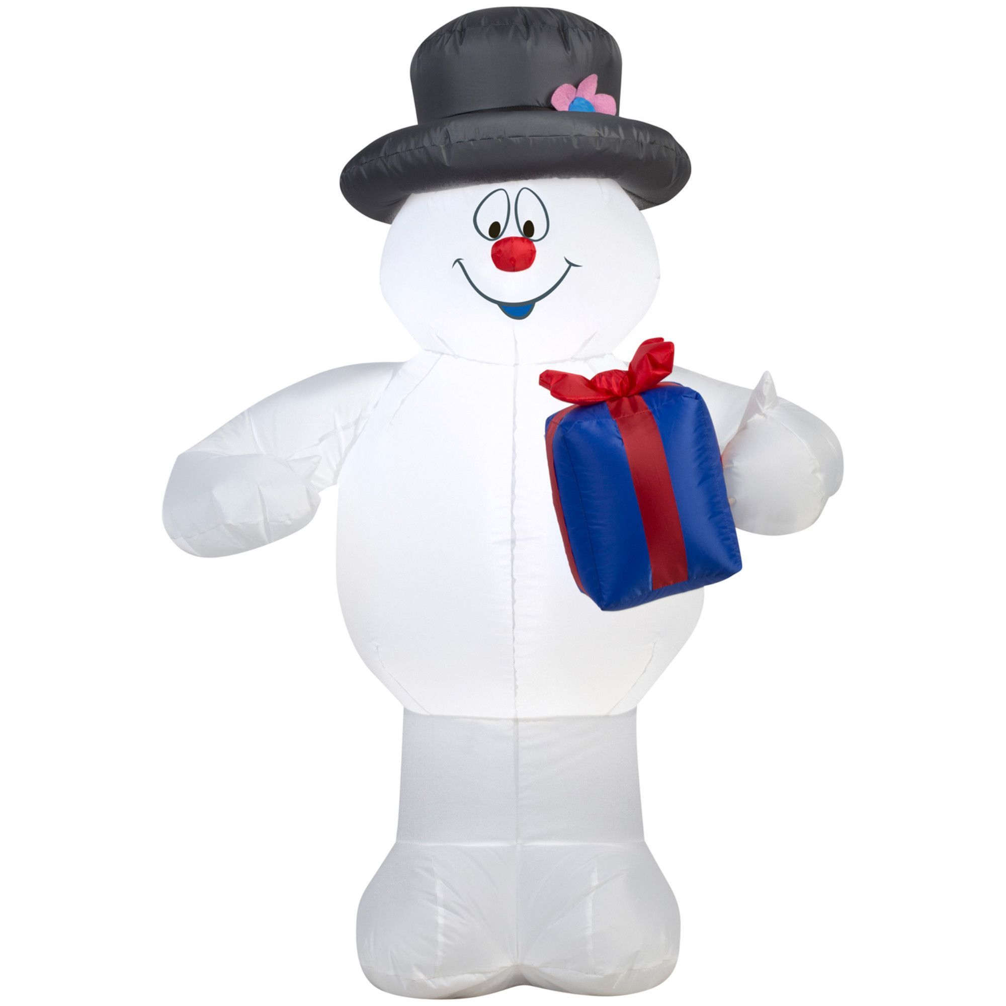 Airblown Frosty with Present Inflatable | Products