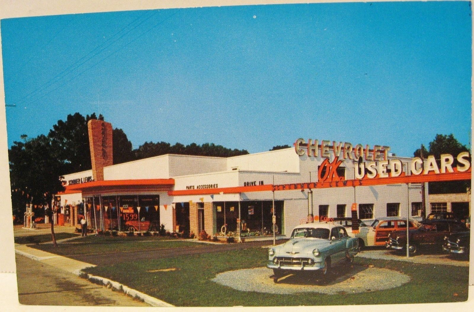 1950 S Scribner Lewis Inc Chevrolet Dealership Bridgetown
