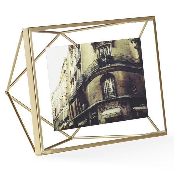 Umbra Prisma Photo Frame 4x6 - Brass | Ranges, Tables and Desks