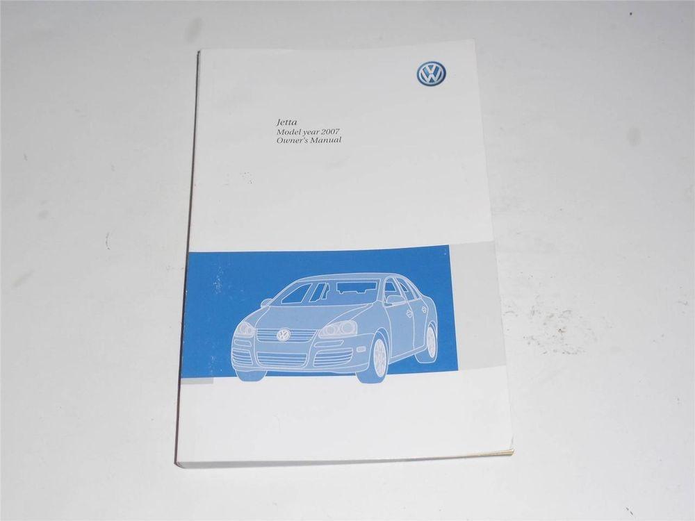 2007 Volkswagen Jetta Owners Manual Book Volkswagen Jetta Owners Manuals Volkswagen