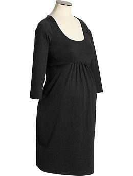 Maternity Ponte-Knit Empire-Waist Dresses | Old Navy