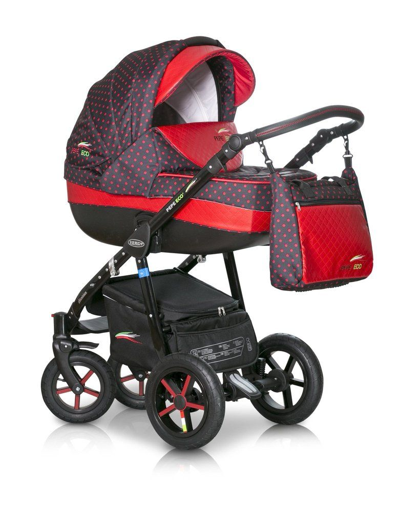 Baby Pram Stroller Pushchair + Car Seat Carrycot Buggy Travel System Pin On Future Baby