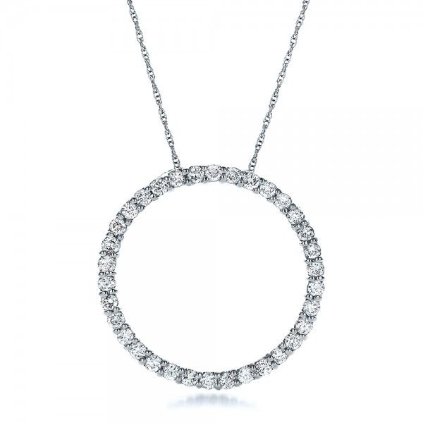Round diamond pendant diamond pendant round diamonds and wedding round diamond pendant joseph jewelry bellevue seattle online design your own mozeypictures Choice Image