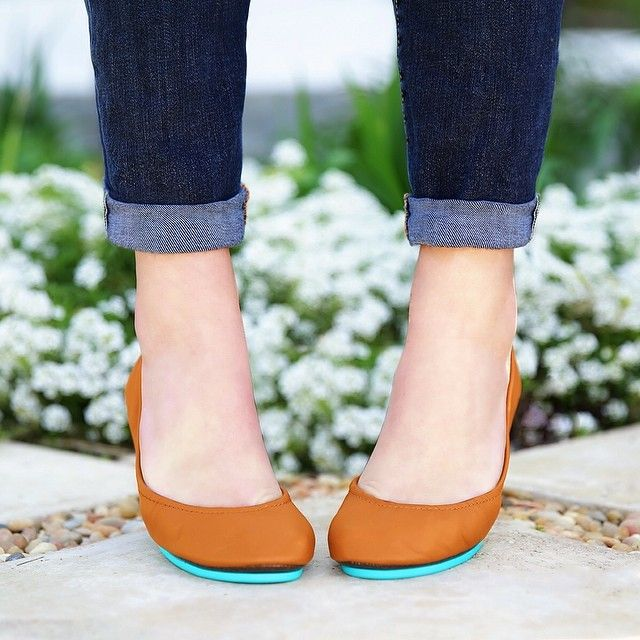I think I need these Chestnut Tieks, or the Camel ones next. #Tieks
