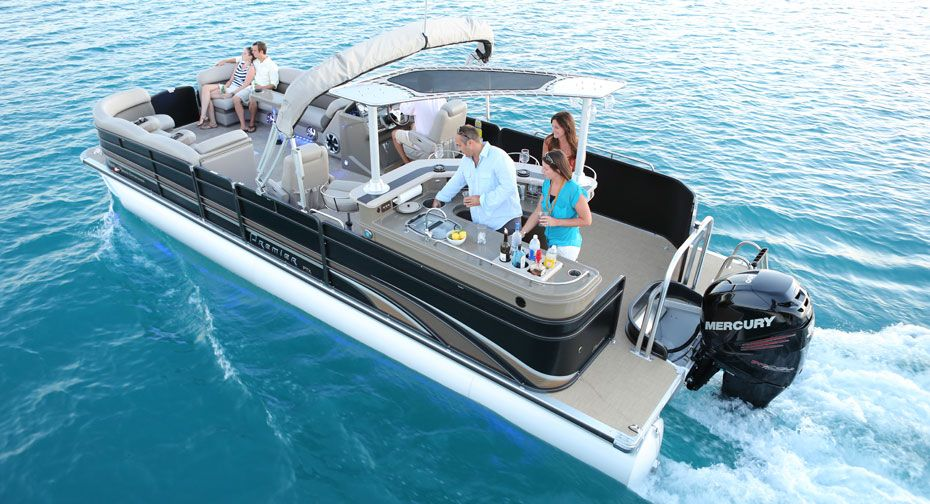 Overhead view of the grand entertainer small yachts