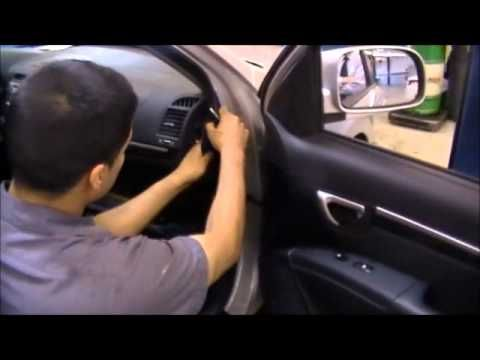 How to replace 2008 Hyundai Sonata cabin air filter. Change every ...