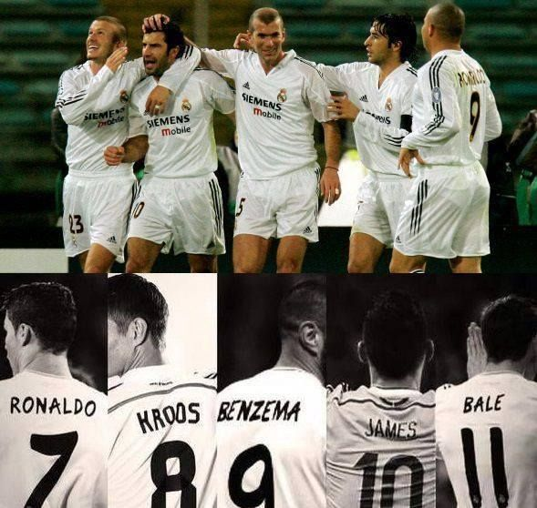 6c5455fbc80 The Old Galacticos and The New Galacticos. ( Real Madrid )