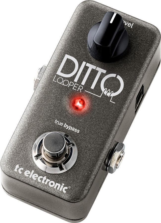 tc electronic ditto looper guitar effects pedal guitar effects pedals guitar pedals pedalboard. Black Bedroom Furniture Sets. Home Design Ideas