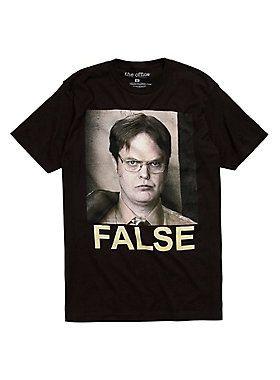 97a4d1d88 The Office Dwight False T-Shirt | Tees Tees Tees | The office shirts ...
