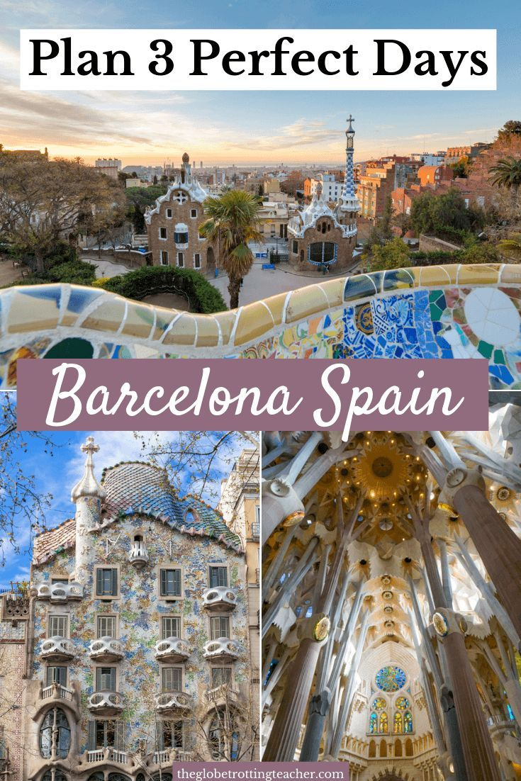 3 Days in Barcelona Itinerary | Wondering what to do in Barcelona for 3 days? Use this complete Barcelona guide to plan your day-by-day itinerary for the perfect trip! Plus get Barcelona travel tips, advice on where to stay, where to eat, and how to save money. #travel #spain #barcelona