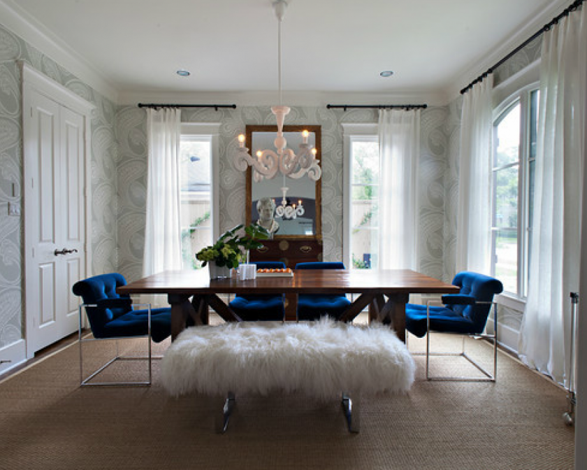 29+ White dining table and blue chairs Best Seller