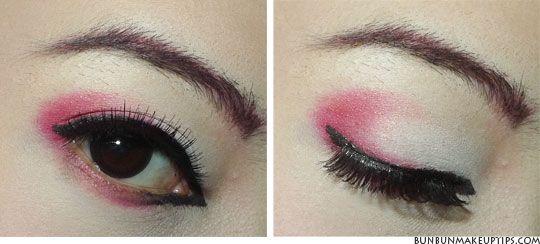 Fun! a Halloween Geisha (-look) tutorial. | face & hair ...