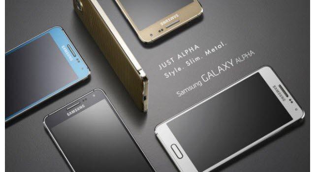 5 productos nuevos: Samsung Alpha, Sony PS TV