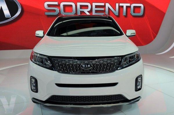 2014 Kia Sorento Kia Sorento La Auto Show Vehicles