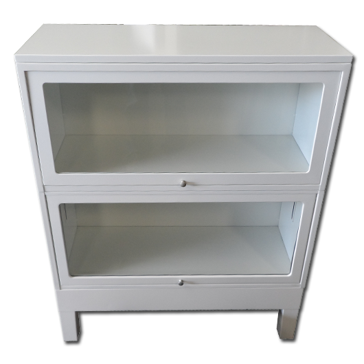 Steel Barrister Bookcase: Globe Werenicke Barrister Lawyers Bookcase With Glass