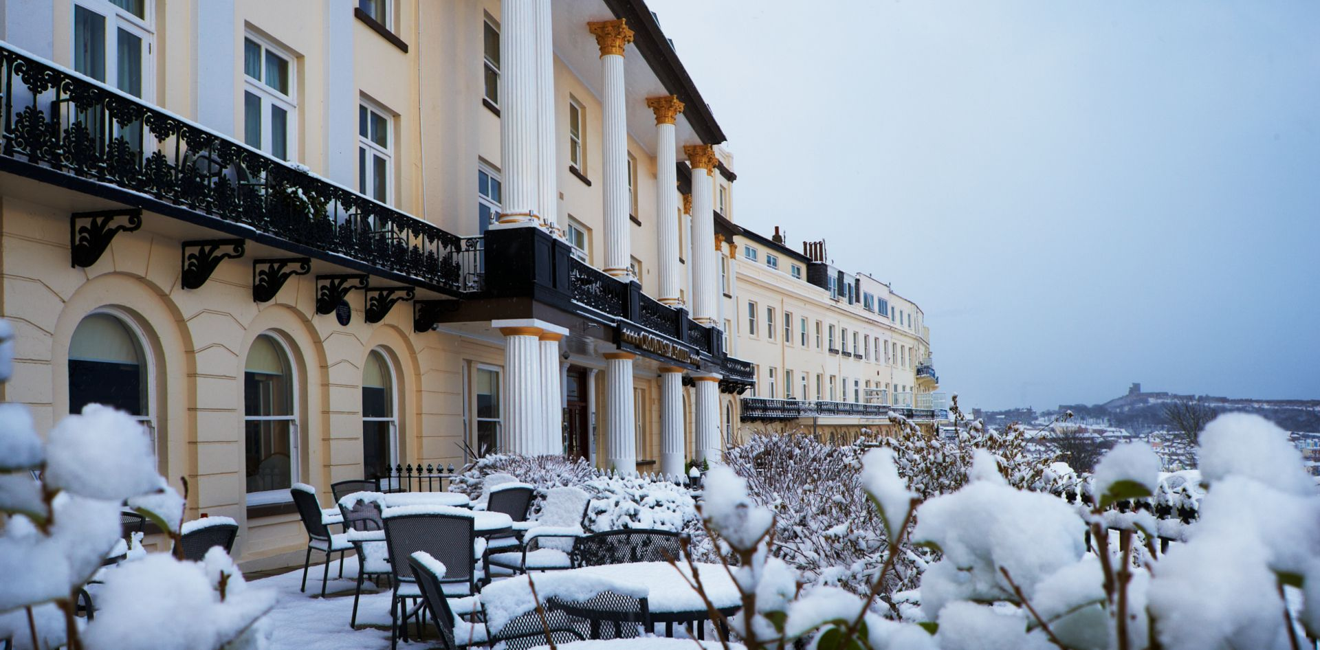 Crown Spa Hotel In Scarborough Four Star Luxury On The Yorkshire Coast