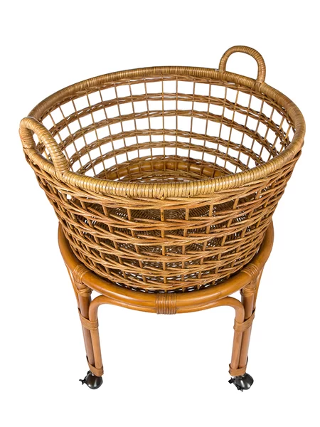 Rolling Wicker Laundry Basket Joss Main Vintage Cart Wicker Laundry Basket Wicker