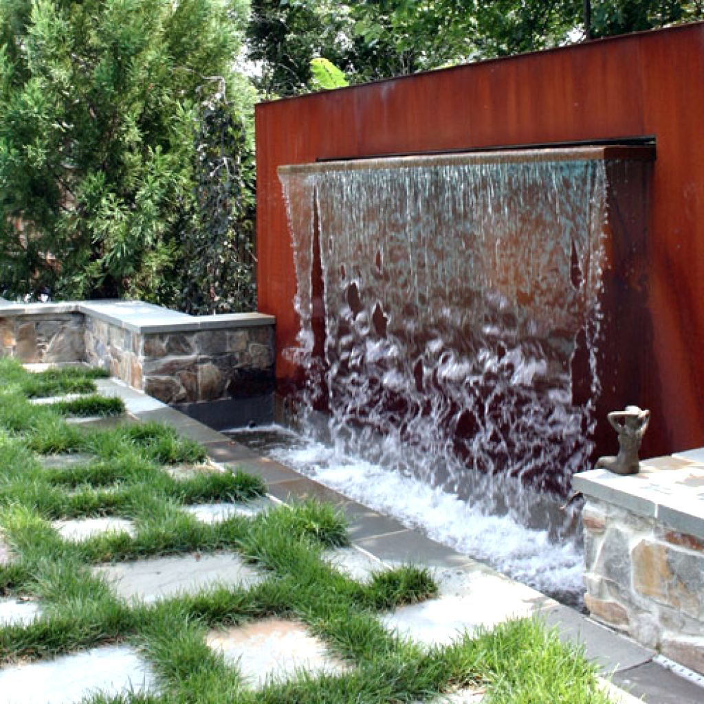 Image Result For Rain Curtain Water Feature