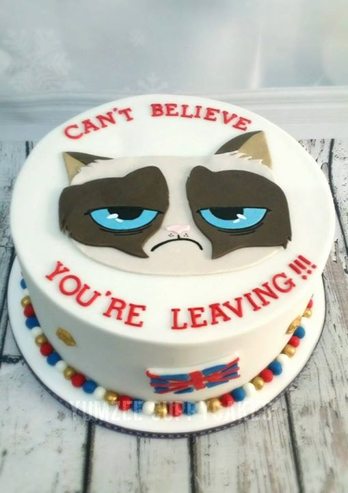 Grumpy Cat Cake With Images Grumpy Cat Cakes Cat Cake Cat