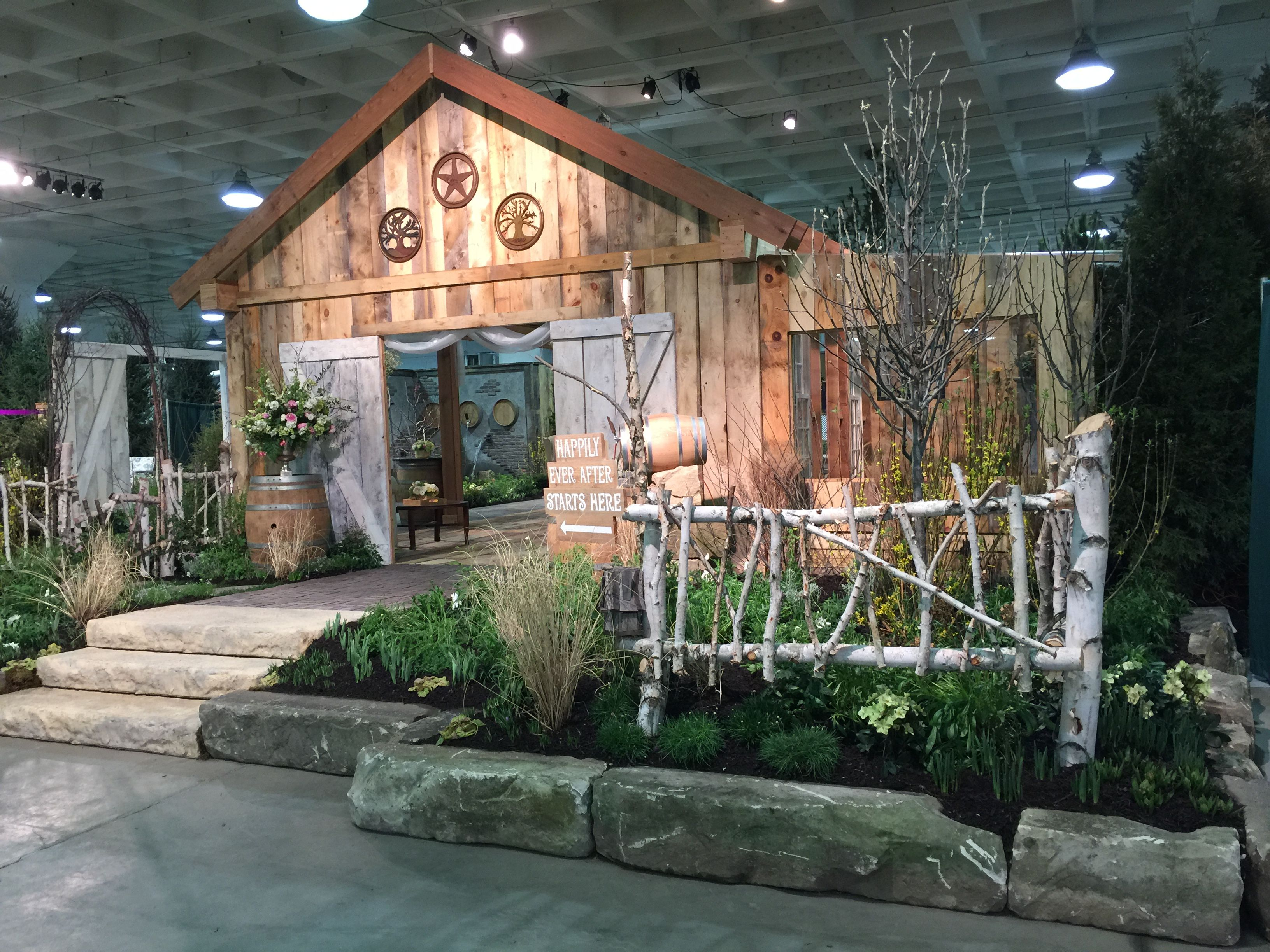 Lovely Cleveland 2016 Home And Garden Show Just Started! Here Is A Spring Flower  Vineyard Wedding