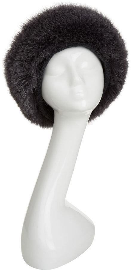 Canadian Hat Beaver and Fox Fur Trim Hat  cf1e944ff45
