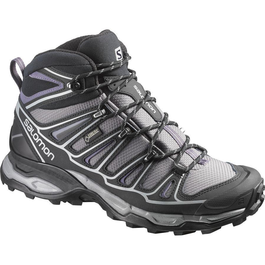 Salomon X Ultra Mid 2 Gtx Hiking Boot Women S Detroit Black Artist Grey X Botas De Montana Botas Mujer Invierno Botas De Mujer