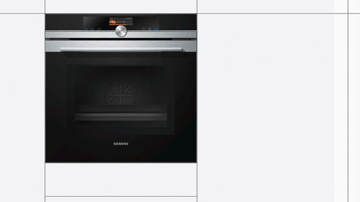 Siemens Iq700 Combi Magnetron Hm676g0s1 Met Cookcontrolplus Variospeed En Activeclean Ovens Rvs Keuken Ideeen