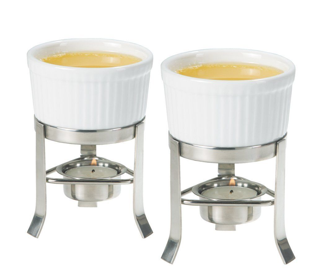 Oggi 2-Piece Butter Warmer Set with Stainless Steel Stand, Set of 6 -- You can find more details by visiting the image link.