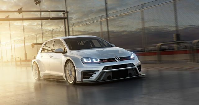 New Vw Golf Gti Tcr Looks Ready To Rip Up The Track New Golf Gti