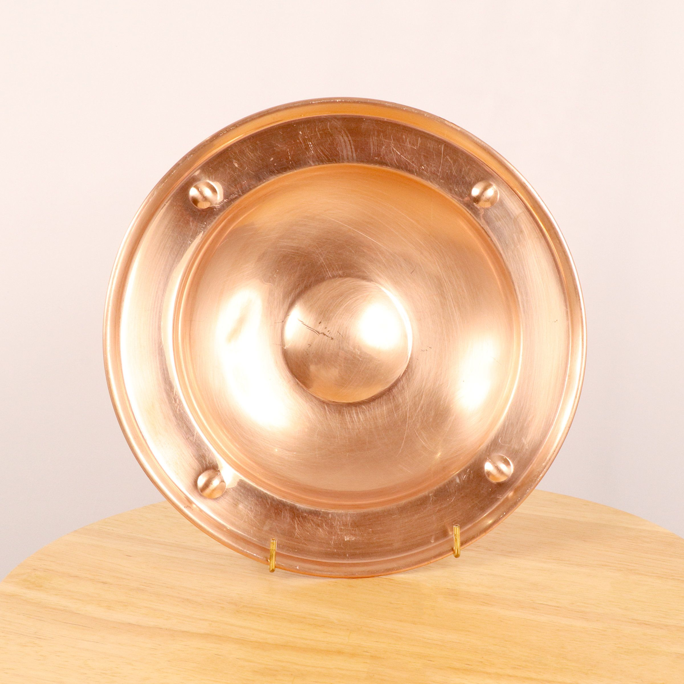 27 Cm Plate Tray Bowl Vintage Copper Tray Trade Mark Linton Made In England By Ukamobile On Etsy In 2020 Vintage Copper Copper Tray Vintage Plates