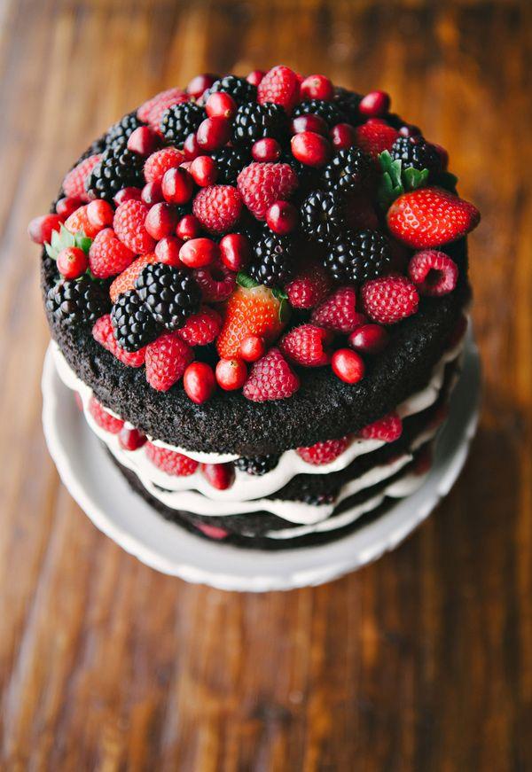 Berries. Cakewalk Bakeshop.