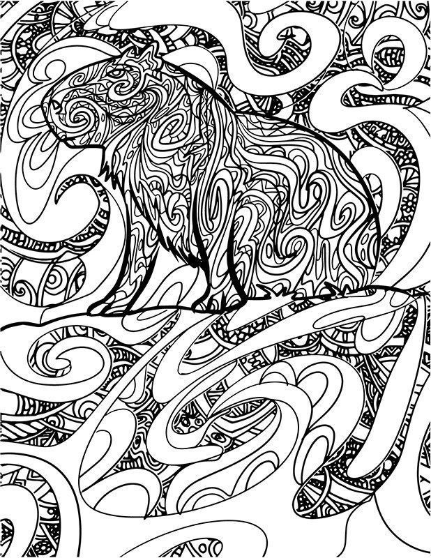 The Mysterious Animal Coloring Page Passion For Coloring Coloring Pages Animal Coloring Pages Color