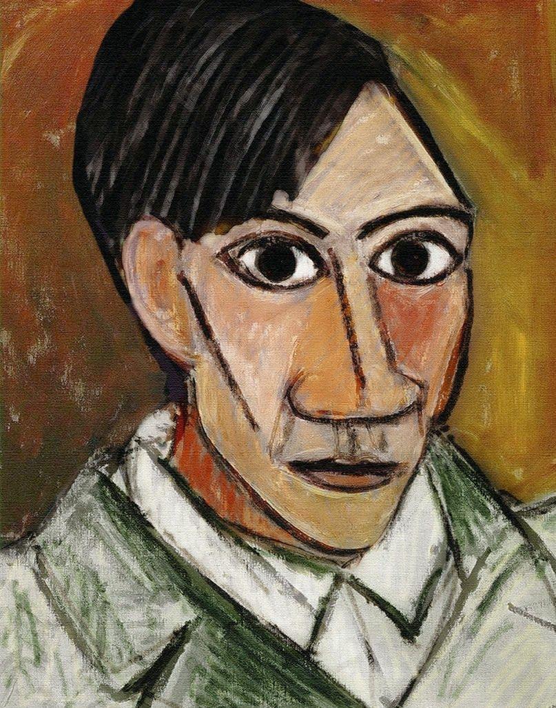 Autorretrato Impresionista Es Una Pintura Al Oleo Realizada Por Pablo Picasso En 1896 Y Que Forma Parte De La Co Autorretrato De Picasso Arte De Picasso Arte
