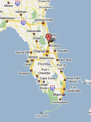 Deland Fl Map Lived in DeLand, Fl for about 6 months in 2006 | Places I've been
