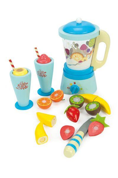 Le Toy Van Honeybake Blender Set Toy Kitchen Toy Blender Smoothie Blender