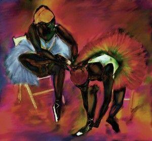 Black Dancers - Giovanna Gazzolo