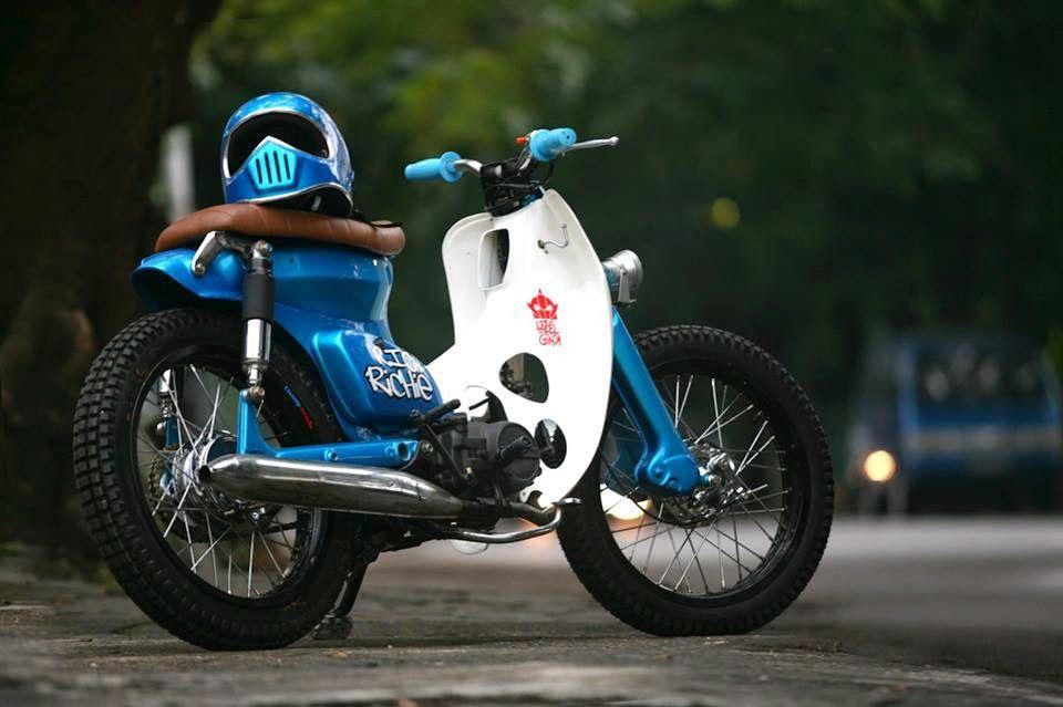 modifikasi motor honda bebek 70 terbaru