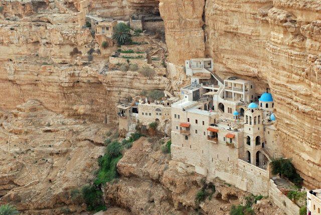 St. George Orthodox Monastery in Wadi Qelt, Palestine :: Adam Fink