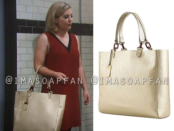 388faa5dda02f3 Maxie Jones s Gold Tote Bag - General Hospital